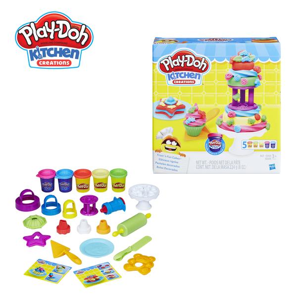 Play-Doh培樂多-廚房系列-糖霜蛋糕遊戲組