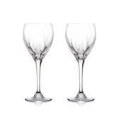 斯洛維尼亞 Rogaska Flame S/2 Wine H20.8cm 2pcs 火焰之舞系列 手工水晶 白酒杯 兩件組