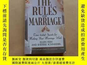 二手書博民逛書店The罕見Rules For Marriage: Time-Tested Secrets For Making Y