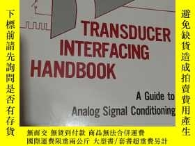二手書博民逛書店transducer罕見interfacing handbook