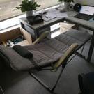 躺椅陽台家用休閒曬太陽沙灘椅摺疊午休午睡床懶人沙發靠背椅子 NMS 樂活生活館
