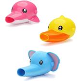 兒童洗手器 水龍頭延伸器 大象 小鴨 海豚 洗手器 水龍頭 引水器 導水器 RA3252