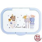 【日本製】【anano cafe】濕紙巾收納封口蓋 藍色(一組:3個) SD-8994 - ananocafe