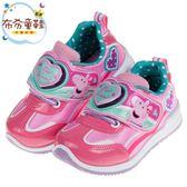 《布布童鞋》粉紅豬小妹佩佩豬蘇西羊桃色兒童電燈休閒鞋(15~19公分) [ A8S401H ]