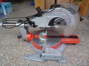 12寸拉杆式切割機 鋸鋁機 斜切鋸 帶激光 送鋸片