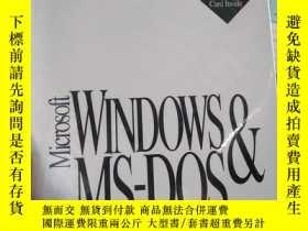 二手書博民逛書店WINDOWSMS-DOS&罕見Operating System Plus Enhanced Tools Win