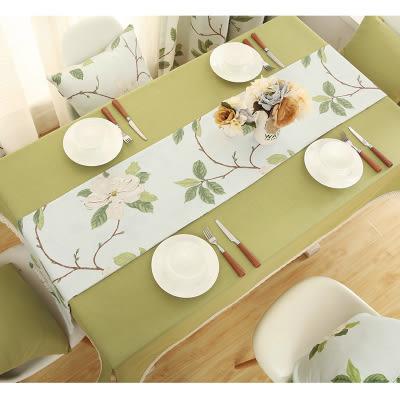 時尚可愛空間餐桌布 茶几布 隔熱墊 鍋墊 杯墊 餐桌巾桌旗203 (30*140cm)