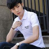 學生半袖襯衣流行男裝短袖青年時尚潮寸衫