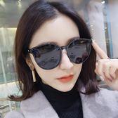 偏光太陽鏡女明星款墨鏡潮圓臉長臉大框開車司機太陽眼鏡女「韓風物語」