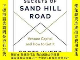 二手書博民逛書店沙山路的秘密:風投,以及如何做風投罕見Secrets of Sand Hill Road: Venture Cap