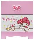 【震撼精品百貨】My Melody 美樂蒂~繽紛美樂蒂系列二抽多功能收納盒#38236