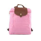 【LONGCHAMP】LE PLIAGE尼龍折疊後背包(粉紅色) 1699089P03