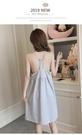睡裙女夏純棉性感吊帶韓版清新少女甜美可愛公主風帶胸墊睡衣夏天春季新品