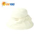 UV100 防曬 抗UV-蝶型抓皺空氣淑...