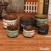 歐式復古工業風大號北歐簡約創意個性水泥煙灰缸家用客廳茶幾潮流 qz5161【甜心小妮童裝】