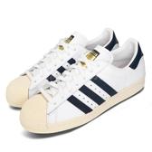 【五折特賣】adidas 休閒鞋 Superstar 80s AC 白 藍 女鞋 復古奶油底 運動鞋 【PUMP306】 BB5896