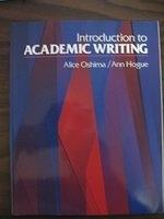 二手書博民逛書店《Introduction to Academic Writing (Longman Academic Writing Series)》 R2Y ISBN:0201145073