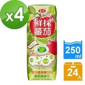 【愛之味】OLIGO健字號鮮採蕃茄汁250ML(24瓶/箱)X4箱