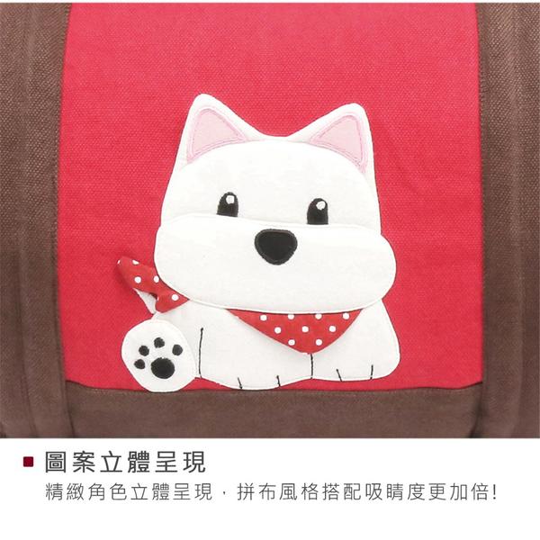 高地白梗 狗狗 大容量 手提/斜背包/旅行袋/行李袋【810120009】
