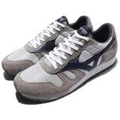 Mizuno 復古慢跑鞋 1906 ML87 灰 白 藍 麂皮 古著 男鞋 【PUMP306】 D1GA170005