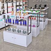 超市貨架展示架中島櫃便利母嬰奶粉店包包鞋店促銷展台雙面展示櫃