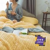 床上四件套 四件套床上用品寶寶絨床單被套床品套件棉質棉質珊瑚絨法蘭絨冬季T【快速出貨】