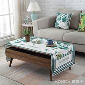 北歐 防水棉麻布藝蓋布茶幾桌布客廳長方形茶幾墊餐桌臺佈防塵曬 美斯特精品