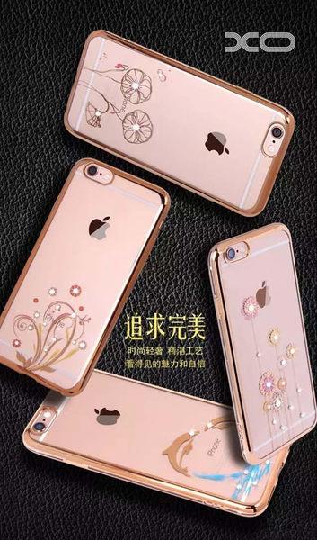 【促銷大優惠】Apple iphone6/6s plus 5.5吋TPU電鍍邊框殼 矽膠軟殼 保護殼 背蓋殼 手機殼 水鑽殼iphone 6+