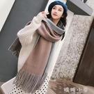 新款圍巾女冬季韓版百搭秋冬季加厚披肩針織毛線學生圍脖冬天 嬌糖小屋