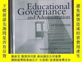 二手書博民逛書店Educational罕見governance and administration history of edu