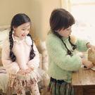 韓女童厚款蕾絲邊波斯絨超柔軟上衣 超柔高質感(不含別針) 橘魔法 Baby magic 現貨 刷毛加厚