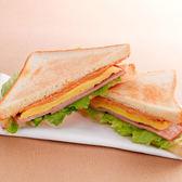 花生火腿三明治早餐套餐(附60元飲品)