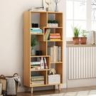 書架北歐書櫃落地小書架現代簡約客廳收納架...
