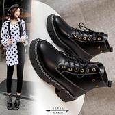 馬丁靴 新款秋季女靴子潮鞋英倫風網紅加厚短靴子冬 - 古梵希