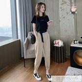 夏季2020新款短袖韓版學生束腳哈倫褲套裝女休閒洋氣時尚兩件套潮  韓慕精品