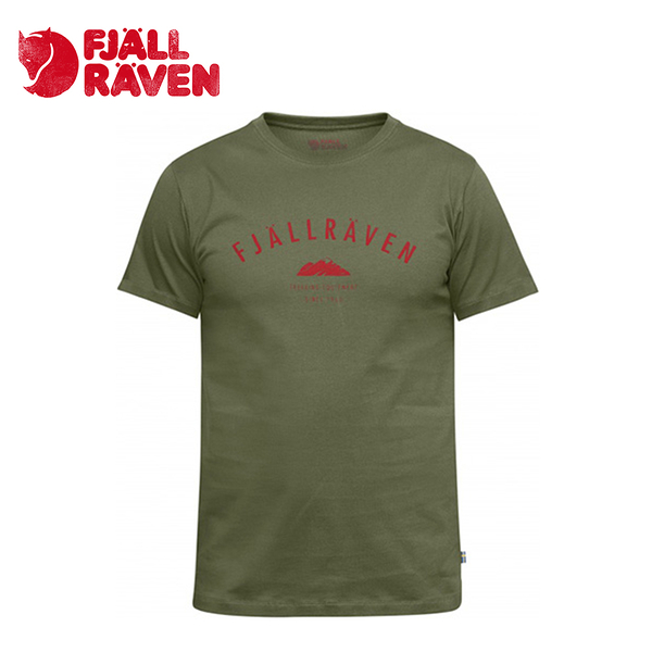 瑞典 Fjallraven 小狐狸 Trekking Equipment T-Shirt 有機棉T 男款 綠 #82456