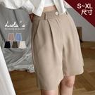 LULUS【A04210072】Y打摺5分西裝褲S-XL5色