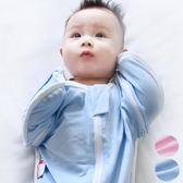 初生嬰兒投降式襁褓防子宮防驚跳包巾被睡袋拉鍊春夏季0-3-6個7月