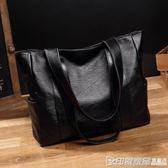 大包包女2018夏季新款韓版簡約百搭手提包大容量單肩包托特包女包  印象家品旗艦店