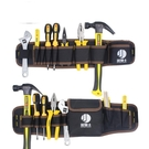工具腰包帆布加厚大工具袋多功能小號掛包收納電工工具包 夏季上新
