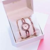 手錶冷淡風手錶女學生正韓簡約潮流女士防水時尚新品手鐲 快速出貨