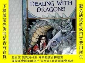 二手書博民逛書店Dealing罕見with Dragons 英文英語原版Y238