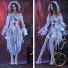 萬聖節服裝 萬圣節服裝成人女鬼新娘角色扮演吸血鬼恐怖血腥cos演出服飾大人-限時8折起