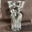 BRAND楓月 Baccarat 巴卡拉 玻璃 水晶 旋轉花紋 鏤空 圓底 花瓶 水瓶 玻璃藝術 裝飾品