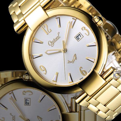 Ogival 愛其華時尚演繹薄型腕錶 3862MK