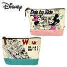 【日本正版】迪士尼 船型 化妝包 收納包 鉛筆盒 筆袋 米奇 米妮 唐老鴨 高飛狗 Disney 042566 042573
