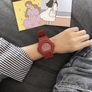 ins超火的手錶女學生韓版簡約潮流ulzzang李現韓商言同款電子手錶 設計師生活百貨