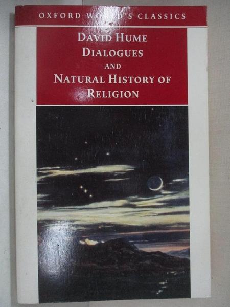 【書寶二手書T1/宗教_GOY】Principal Writings on Religion Including Dialogues Concerning Natural Religion and the Natura