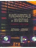 二手書博民逛書店《Fundamentals of Investing with