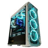 電腦機殼鑫谷LUX拉克斯全側透機箱ATX水冷分體式水冷機箱台式電腦機箱  DF